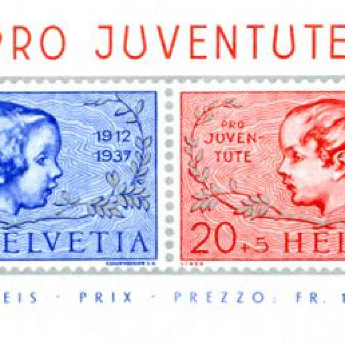 Timbres Pro Juventute